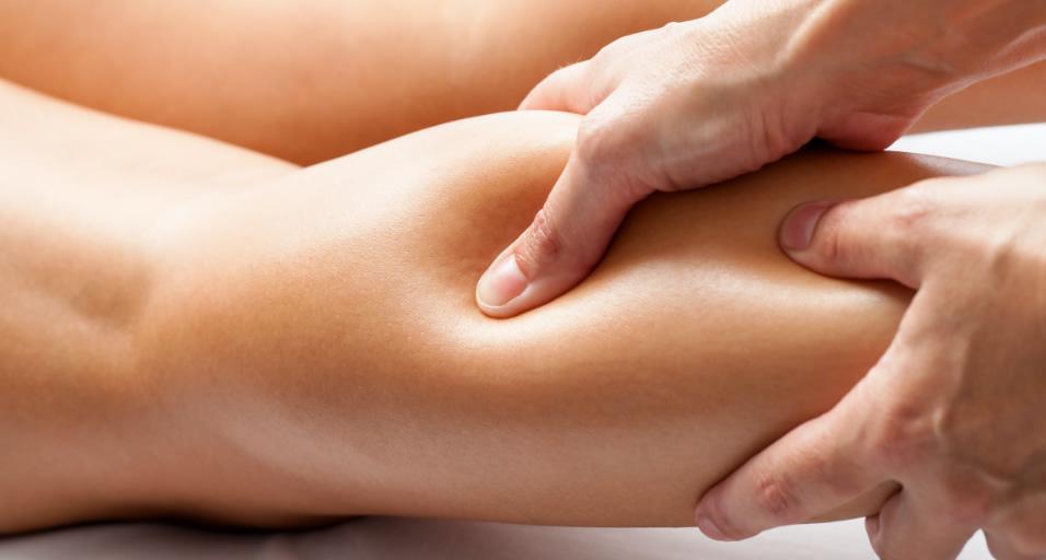 Person Receiving Massage at Hartland Movement Center