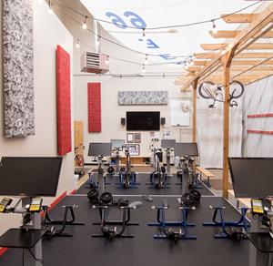 Indoor Cycling at Hartland Movement Center