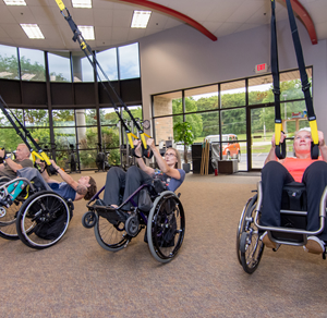 Para Athlete Training and Fitness at Hartland Movement Center